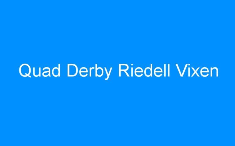 Quad Derby Riedell Vixen