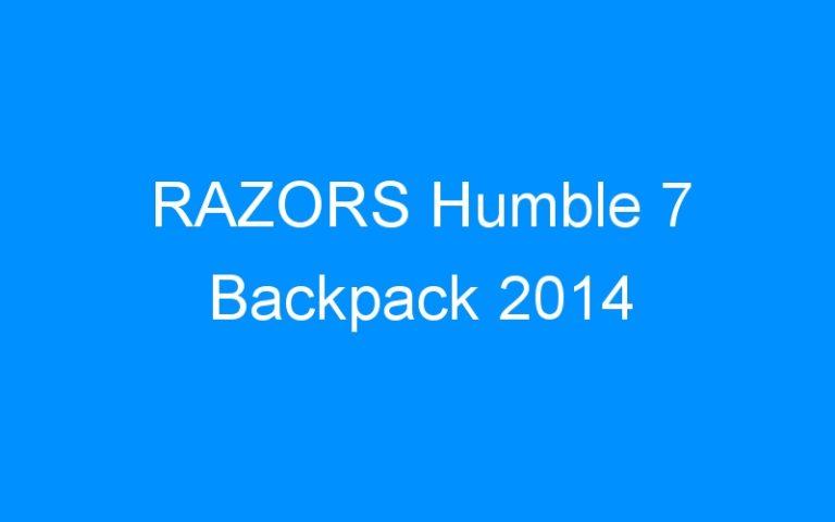 RAZORS Humble 7 Backpack 2014