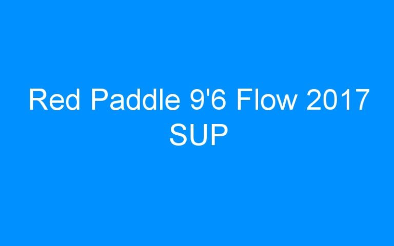 Red Paddle 9'6 Flow 2017 SUP