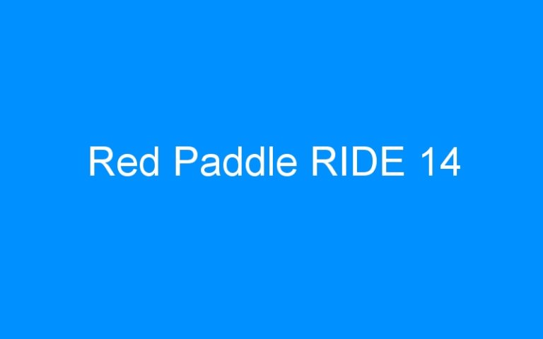 Red Paddle RIDE 14