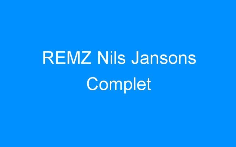 REMZ Nils Jansons Complet