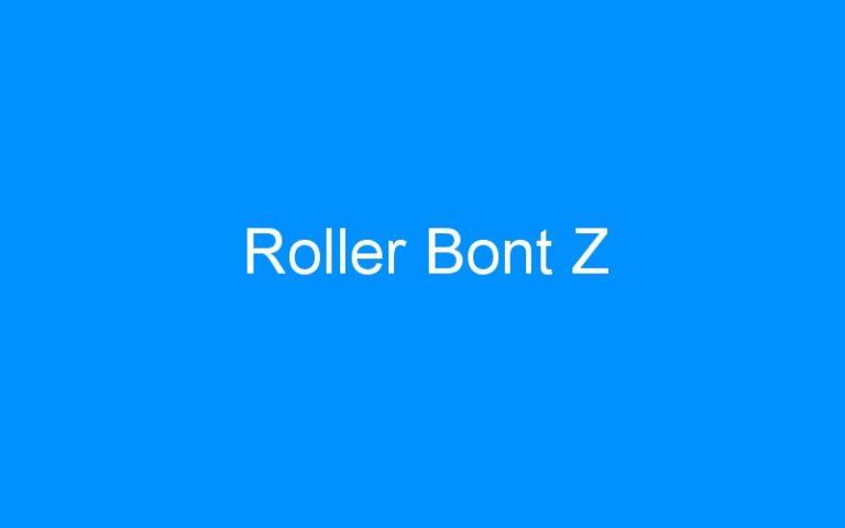 Roller Bont Z
