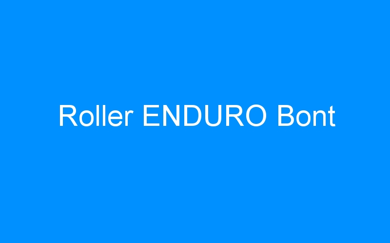 Roller ENDURO Bont