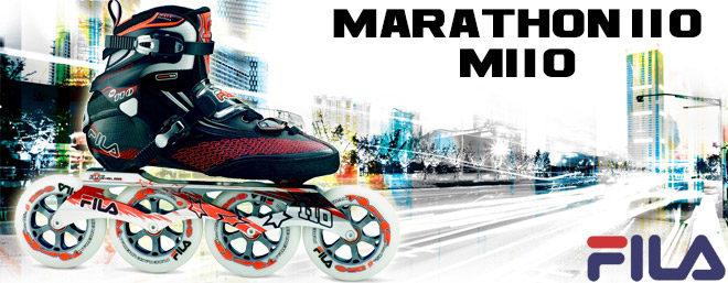 Le roller FILA marathon M110 : description et photos exclusives