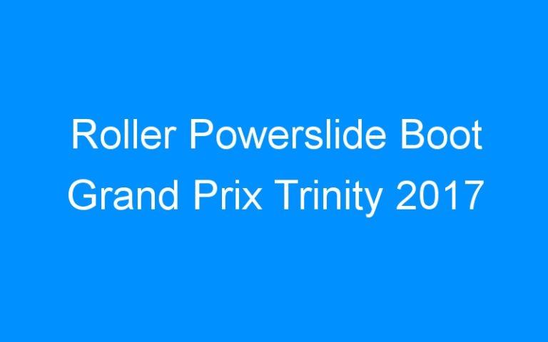 Roller Powerslide Boot Grand Prix Trinity 2017