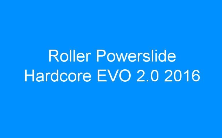 Roller Powerslide Hardcore EVO 2.0 2016