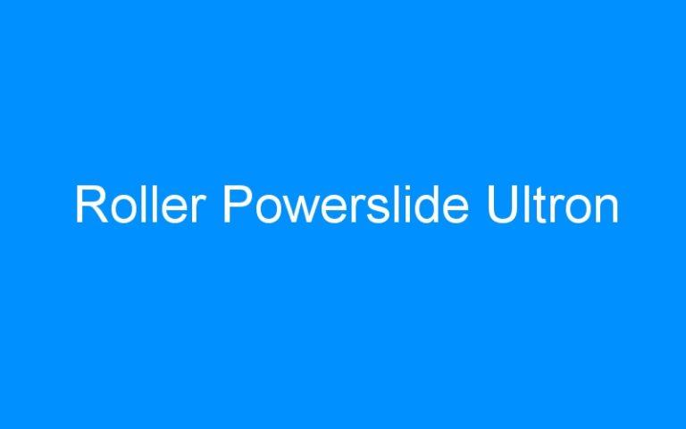 Roller Powerslide Ultron