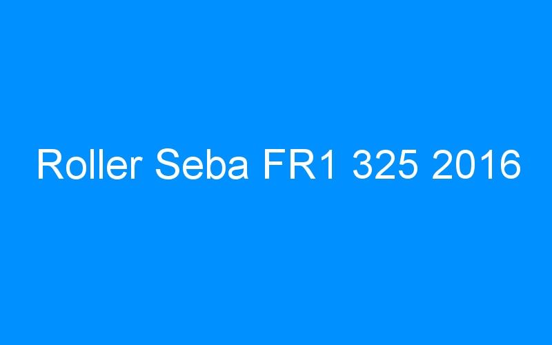 Roller Seba FR1 325 2016