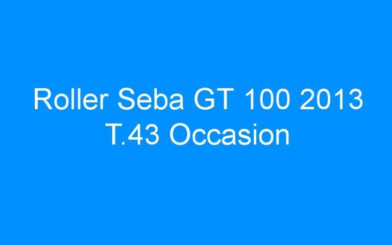 Roller Seba GT 100 2013 T.43 Occasion
