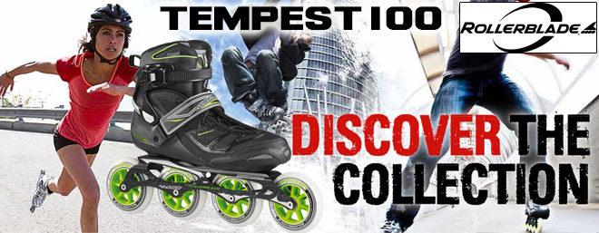 Roller Rollerblade tempest 100