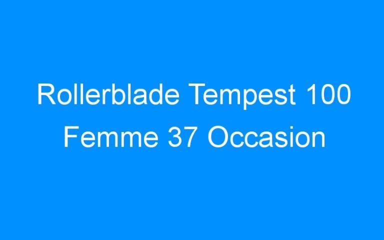 Rollerblade Tempest 100 Femme 37 Occasion