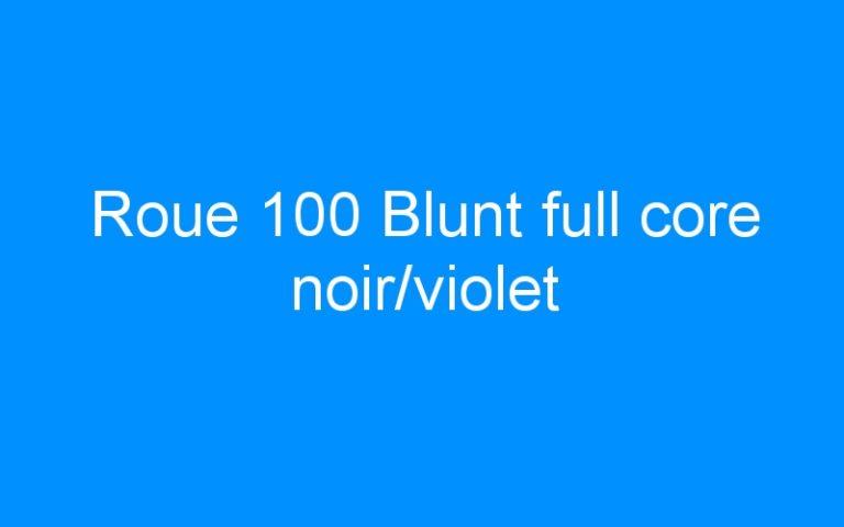 Roue 100 Blunt full core noir/violet