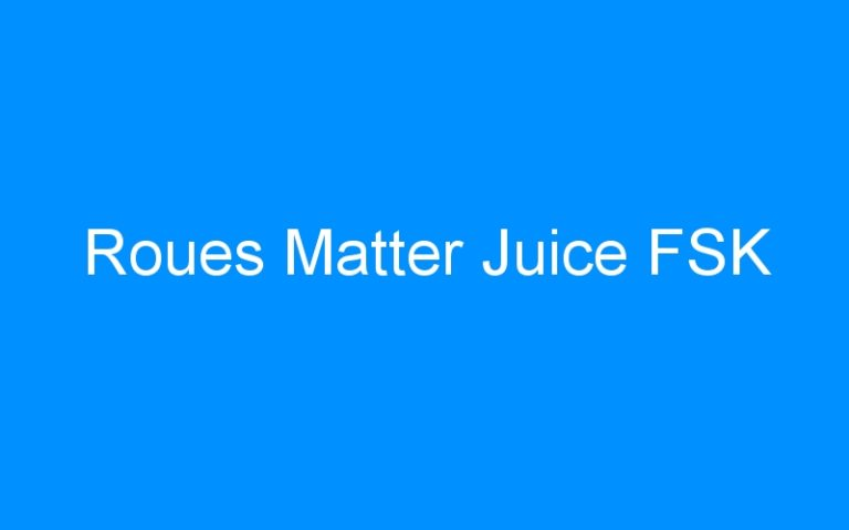 Roues Matter Juice FSK