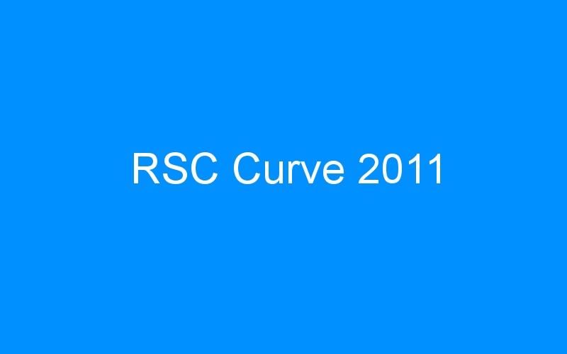 RSC Curve 2011
