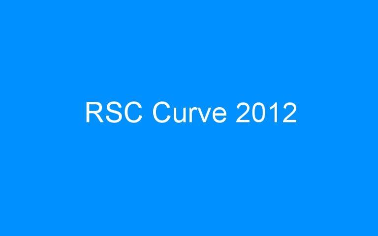 RSC Curve 2012