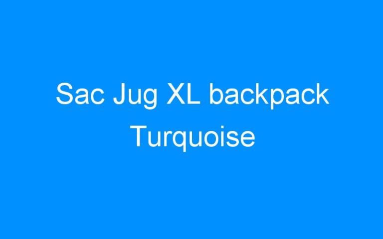 Sac Jug XL backpack Turquoise