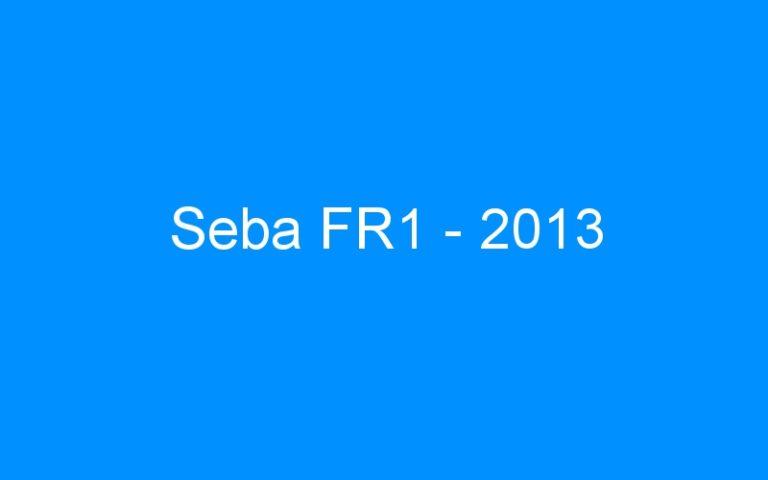 Seba FR1 – 2013