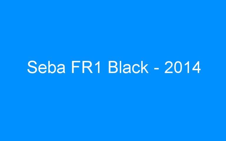 Seba FR1 Black – 2014