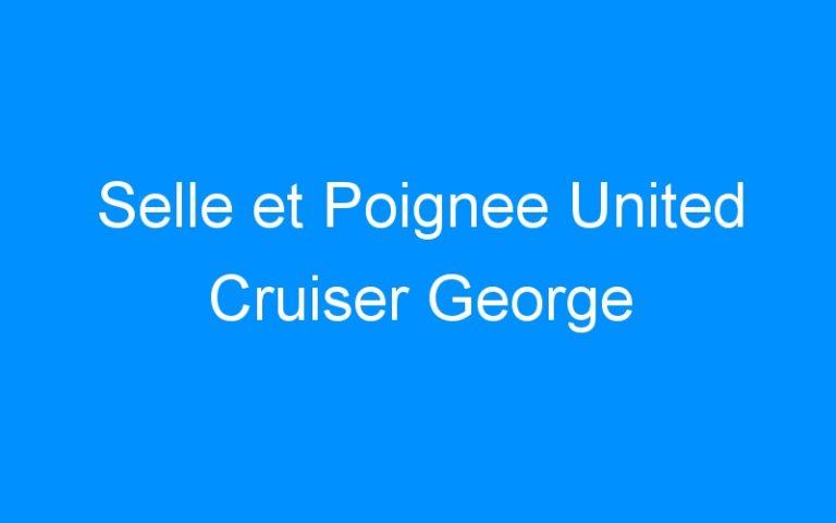Selle et Poignee United Cruiser George