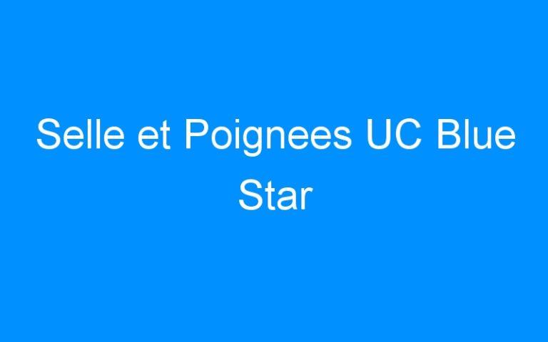 Selle et Poignees UC Blue Star