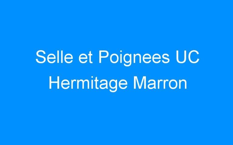 Selle et Poignees UC Hermitage Marron
