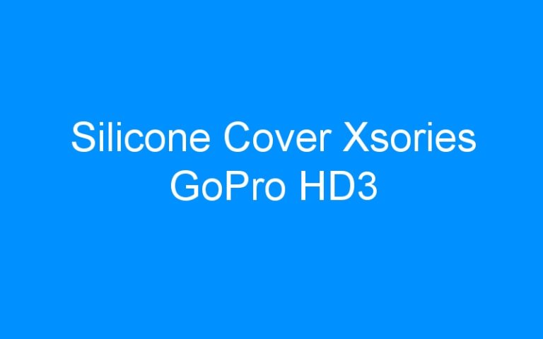 Silicone Cover Xsories GoPro HD3