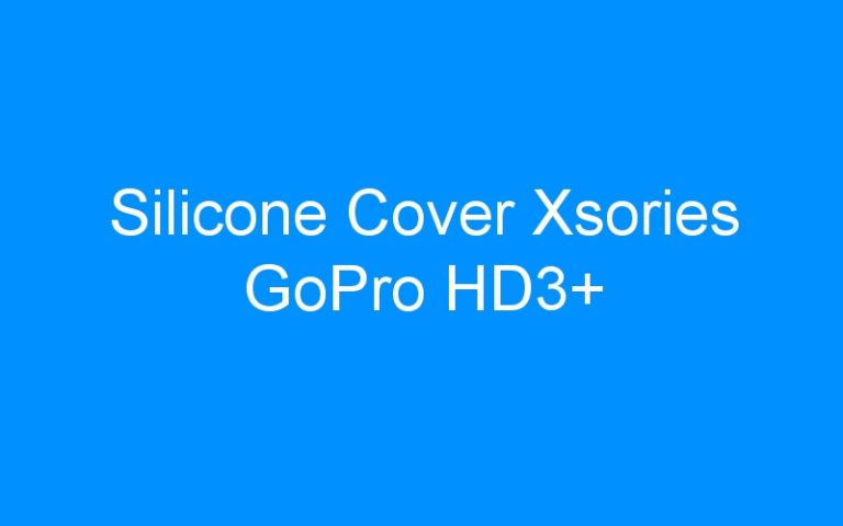 Silicone Cover Xsories GoPro HD3+