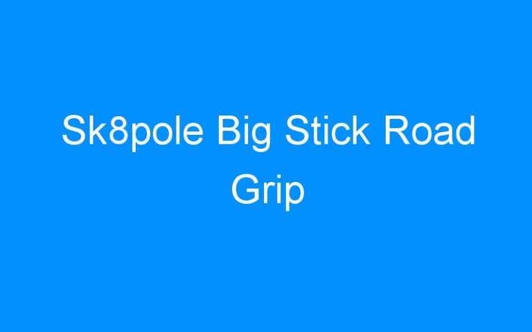 Sk8pole Big Stick Road Grip