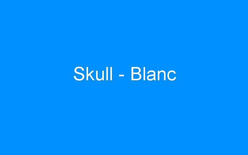Skull – Blanc