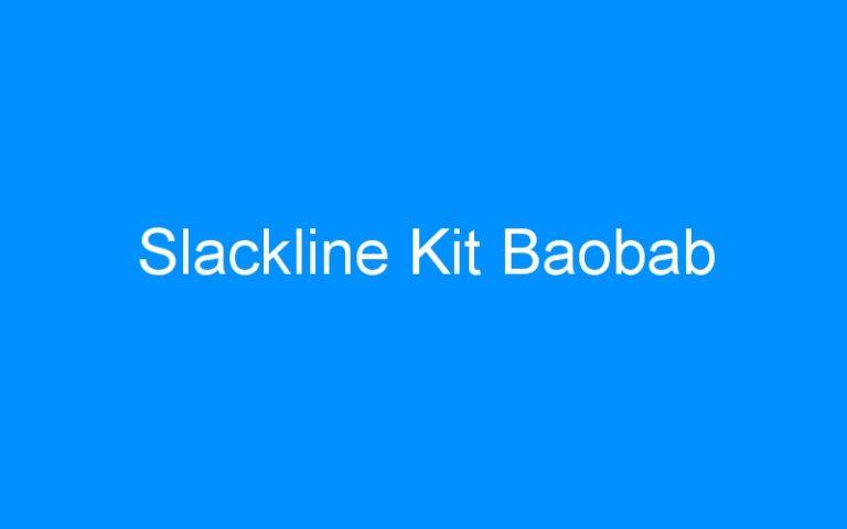 Slackline Kit Baobab