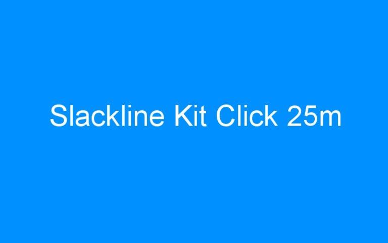Slackline Kit Click 25m