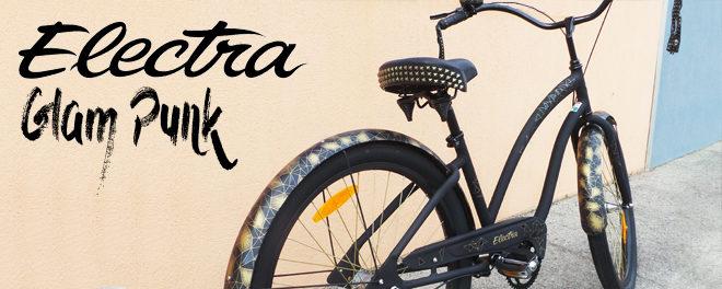Electra Glam Punk : Le vélo Cruiser rock !
