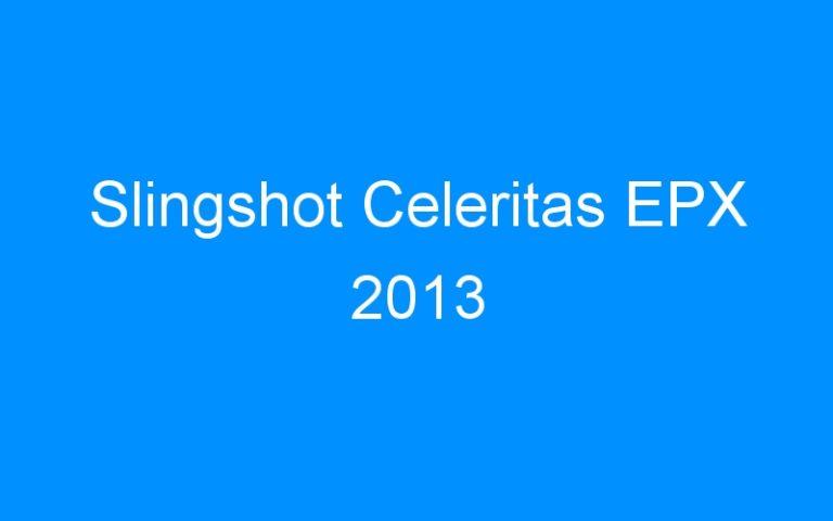 Slingshot Celeritas EPX 2013