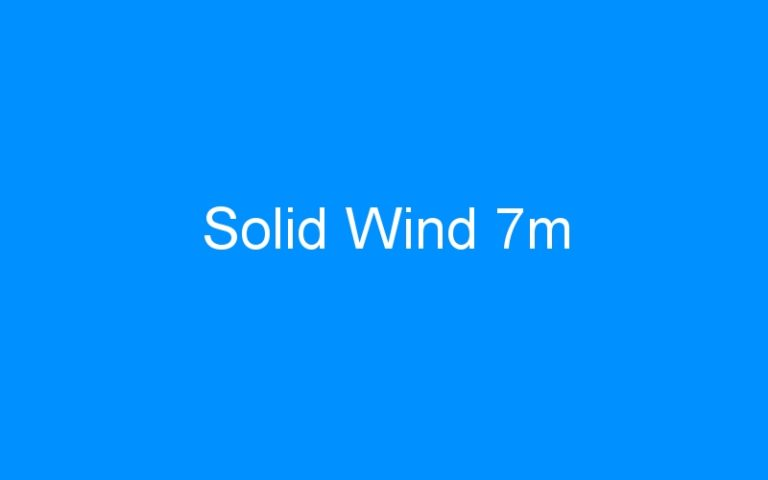 Solid Wind 7m