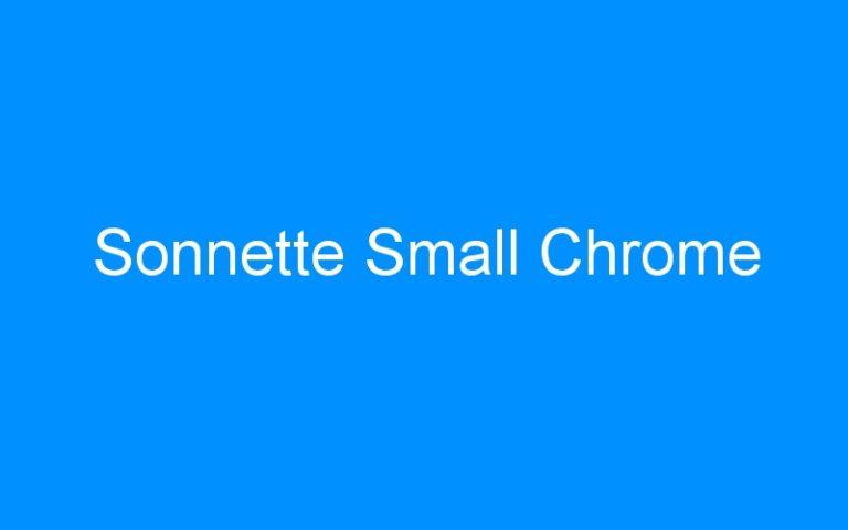 Sonnette Small Chrome