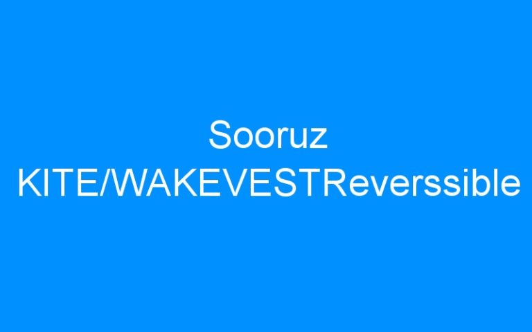 Sooruz KITE/WAKEVESTReverssible