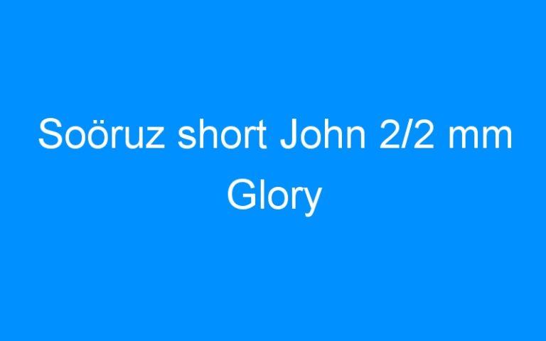 Soöruz short John 2/2 mm Glory