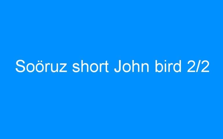 Soöruz short John bird 2/2