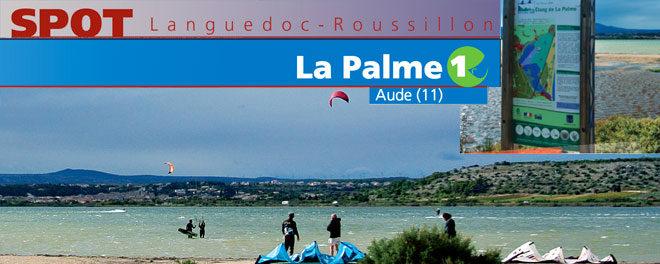 Zone de kitesurf de La Palme dans l'Aude (11) : Accès, stat de vents et description