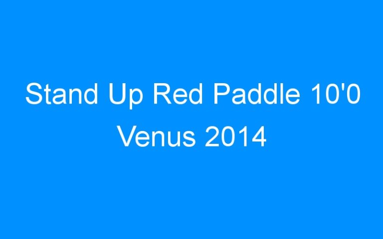 Stand Up Red Paddle 10'0 Venus 2014