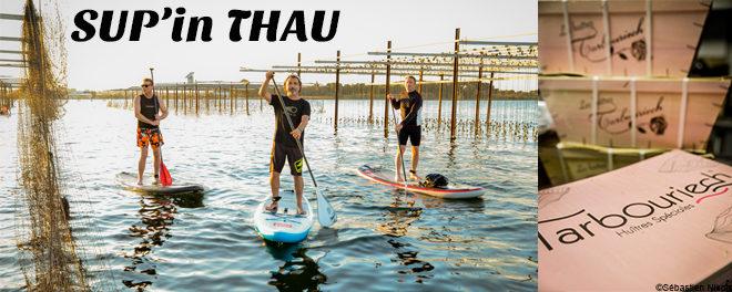Randonnée Paddle, itinéraire Thau : Visite des Ets Tarbouriech