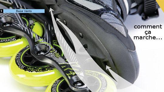 Roller K2 VO2 100 X Boa 2014 Mixte