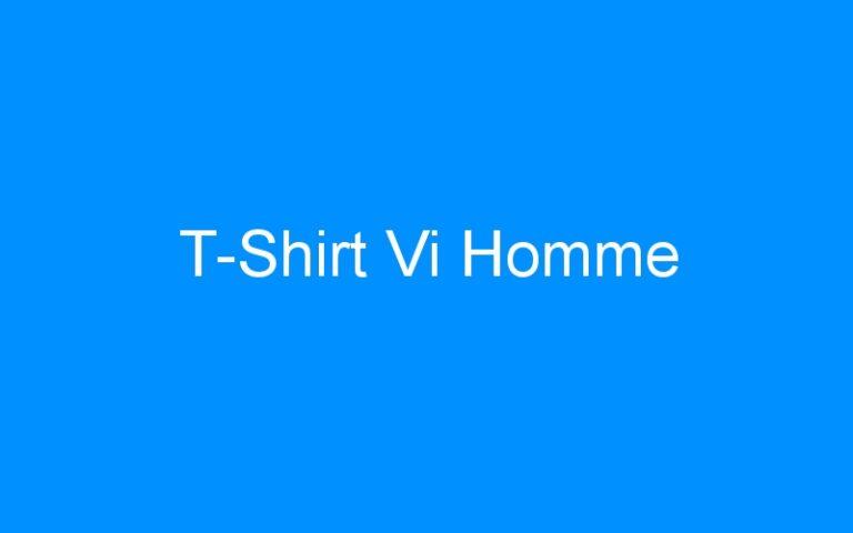 T-Shirt Vi Homme