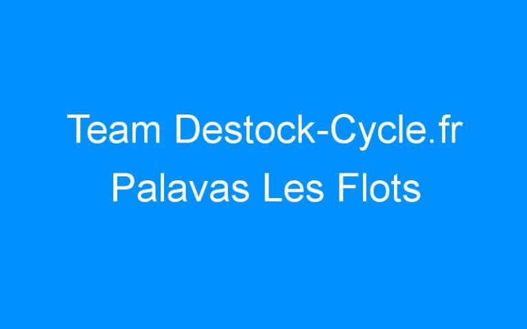 Team Destock-Cycle.fr Palavas Les Flots