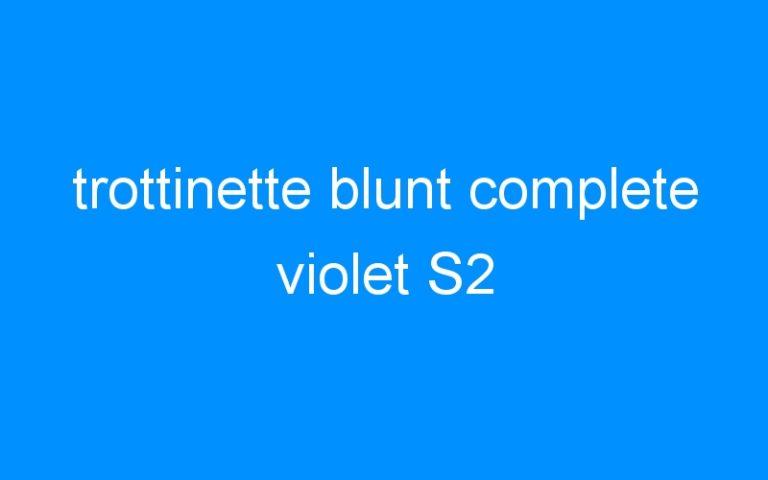 trottinette blunt complete violet S2