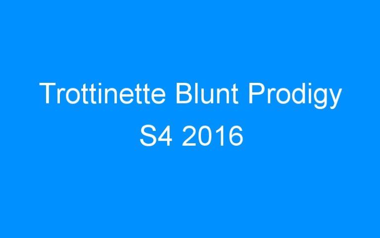 Trottinette Blunt Prodigy S4 2016