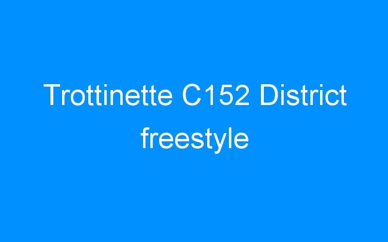 Trottinette C152 District freestyle
