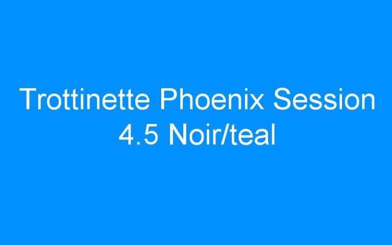Trottinette Phoenix Session 4.5 Noir/teal