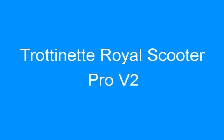 Trottinette Royal Scooter Pro V2