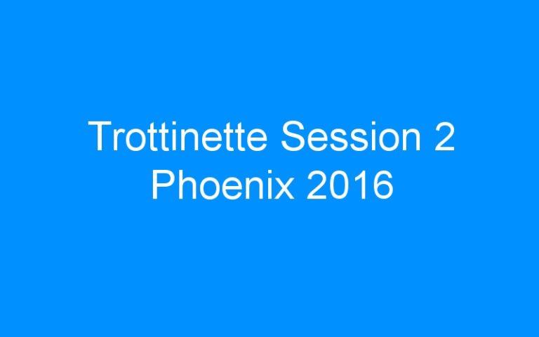 Trottinette Session 2 Phoenix 2016